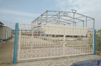 Steel fabrication or storage yard for sale