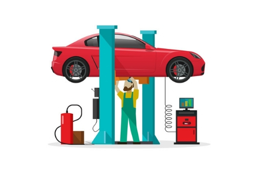 Profitable and Operating Car Wash and Car Repairing Workshop