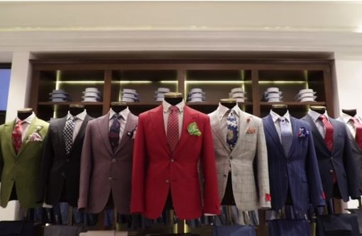 FAMOUS FASHION BOUTIQUE FOR MEN FOR SALE IN TOP MALL IN ABU DHABI